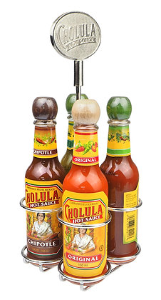 Cholula Table Caddie - 4 x 150ml
