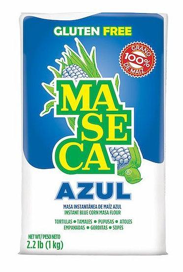 Maseca Azul (Blue) Corn Masa Flour - 1 kg