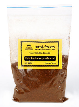 Mexi-foods Chile Pasilla - Ground - no less than 70gms