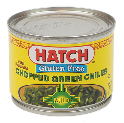 Hatch Chopped Green Chiles - Mild