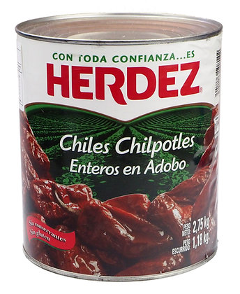 Herdez Whole Chipotles - 2.75kg
