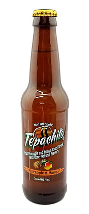 Tepachito Pineapple & Mango Cider - 355ml (non-alcoholic)