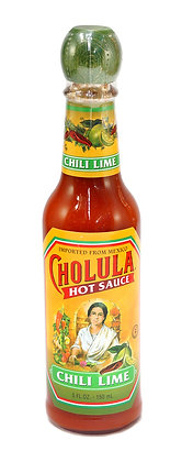 Cholula Chili Lime Hot Sauce - 150ml