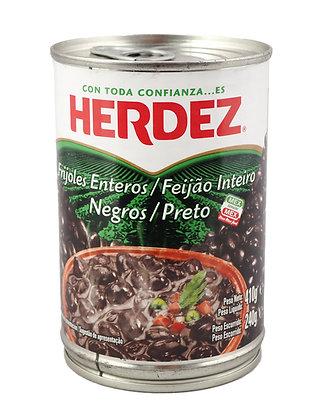 Herdez Whole Black Beans - 410 gram