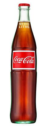 Mexican Coca Cola 'Medio Utro' - 500ml