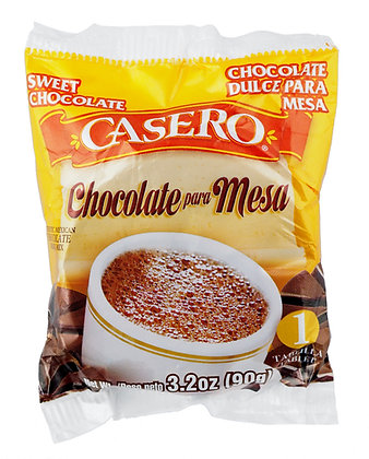 Casero Chocolate Tablet - 4 Serve Pack