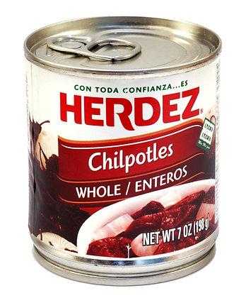 Herdez Chipotles en adobo - 215gm