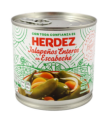 Herdez Whole Jalapenos - 350 gram