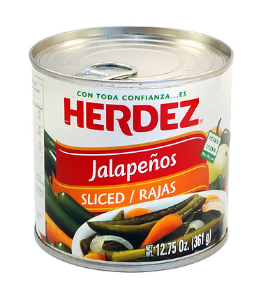 Herdez Sliced Jalapenos - 361gm