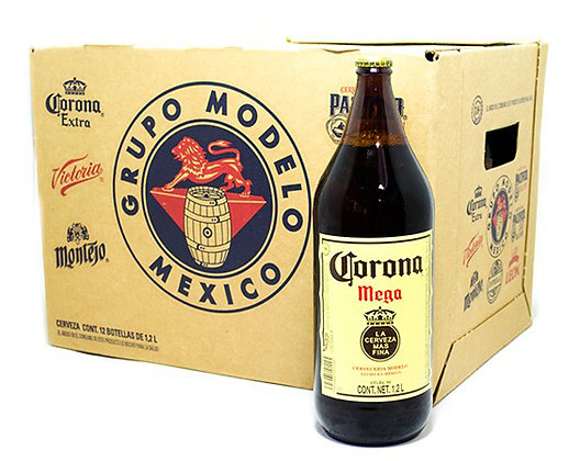 Corona Mega -  12 x 1.2 litre Botlles