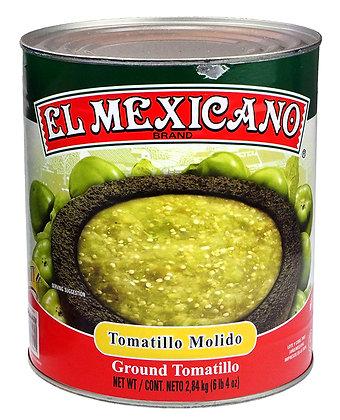 El Mexicano Crushed Tomatillos - 2.84 kg