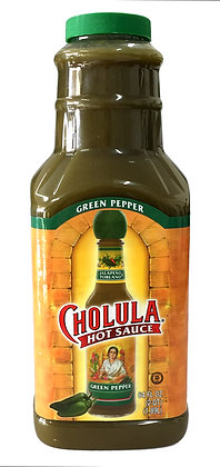 Cholula Green Pepper Hot Sauce - 1.89 litre