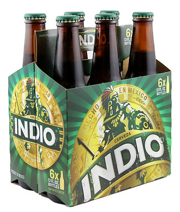 Indio Lager - 24 x 355ml Bottles