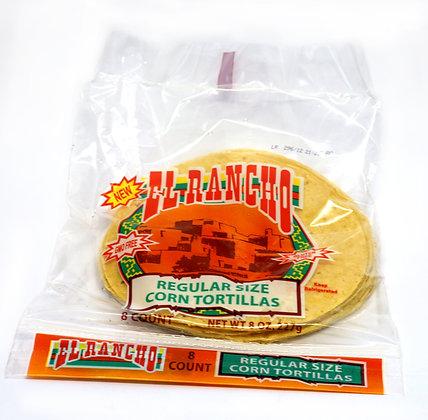 """El Rancho Soft Corn Tortillas - 6"""" x 8 pack"""
