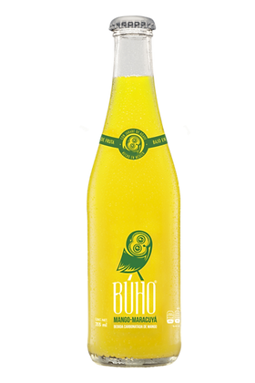 Buho Soda: Mango & Passionfruit- 355ml