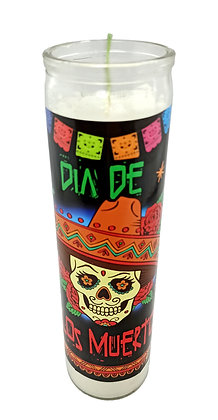 Day of the Dead Candle- 283 gram