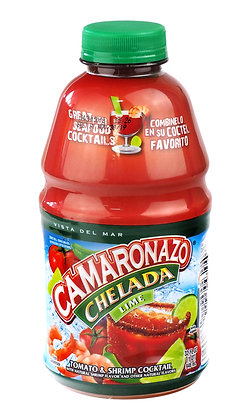Camaronazo Chelade: Tomato, Shrimp & Lime Cocktail - 946ml