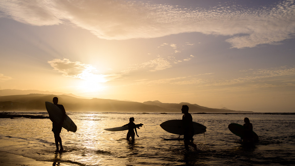 Las Palmas de Gran Canaria, paraíso y lugar de encuentro de los amantes del surf en Europa
