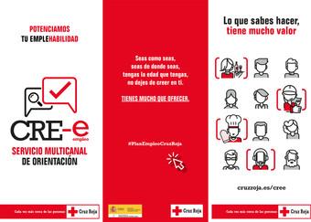 Cruz Roja lanza CRE-e, un innovador servicio multicanal de orientación para el empleo