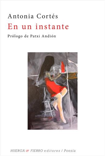 La periodista Antonia Cortés publica 'En un instante', su cuarto poemario