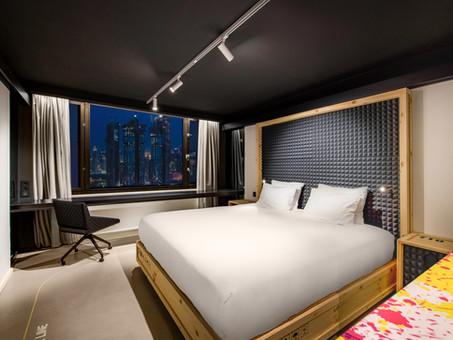 Cuando el arte se transforma en hotel: nuevo nhow Brussels Bloom