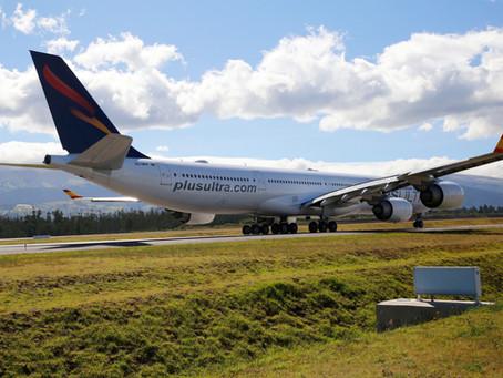 Plus Ultra Líneas Aéreas reinicia sus vuelos entre Tenerife y Caracas