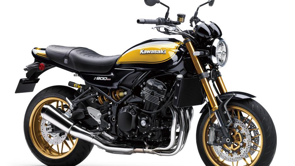 "Kawasaki presenta la mítica Z900RS SE ""Yellow Ball"" para 2022"