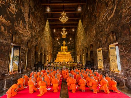Wat Suthat. Bangkok, Tailandia