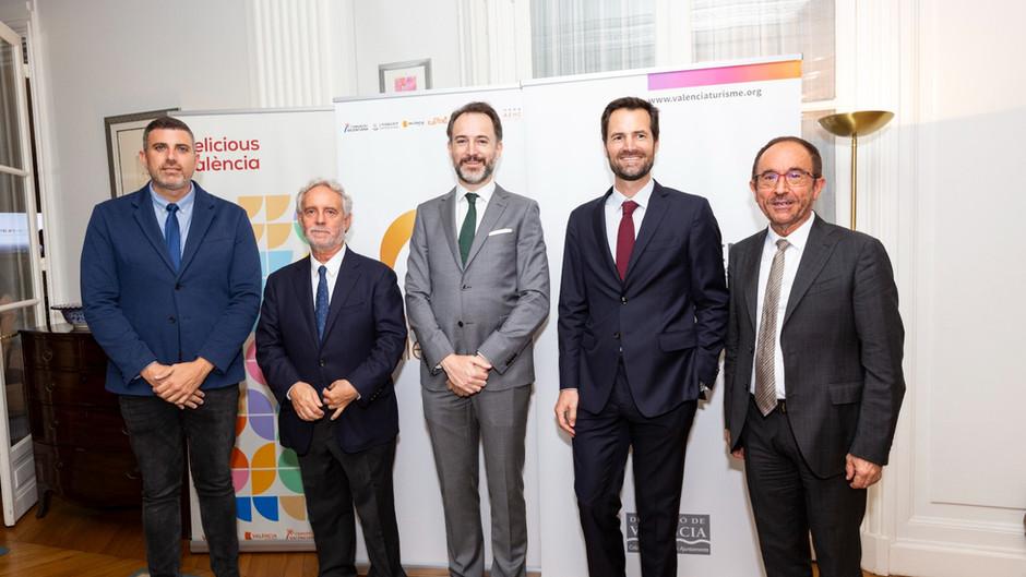 París acoge la presentación de València como destino turístico gastronómico