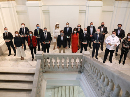 Madrid reconoce la labor sector con motivo del Día Mundial del Turismo