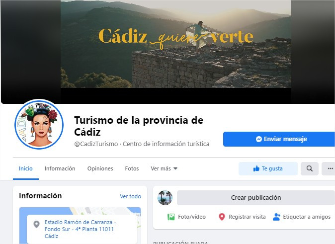El Facebook del Patronato de Turismo de la Diputación supera los 100.000 seguidores