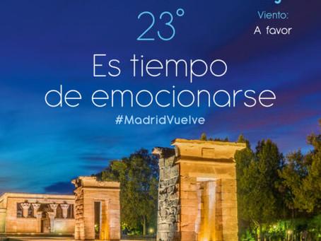 Gran acogida de la campaña especial de turismo 'Vuelve a Madrid'