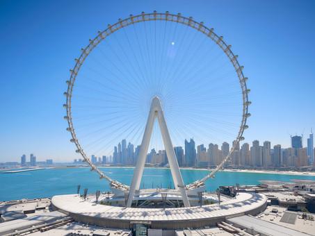 La noria más alta del mundo está en Dubái