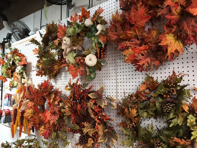 Fall Wreaths at The Greenhouse