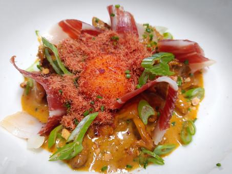 Las verduras protagonizan la carta de la temporada otoño-invierno en restaurante Uskar