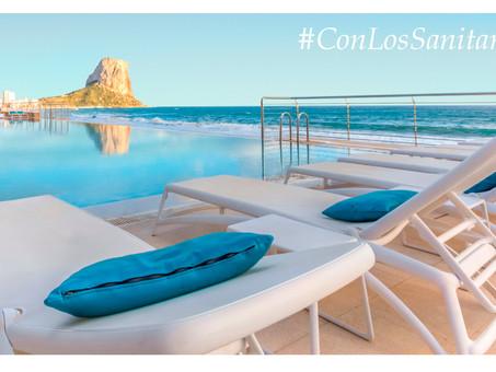 La campaña #conlossanitarios de Sol y Mar Hoteles recauda 300 estancias para los sanitarios