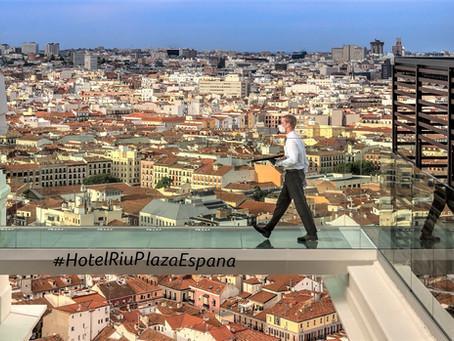 Más de medio millón de personas han visitado la terraza 360° del hotel Riu Plaza de España