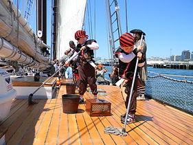Swabbing The Deck San Diego Pirate Adventures