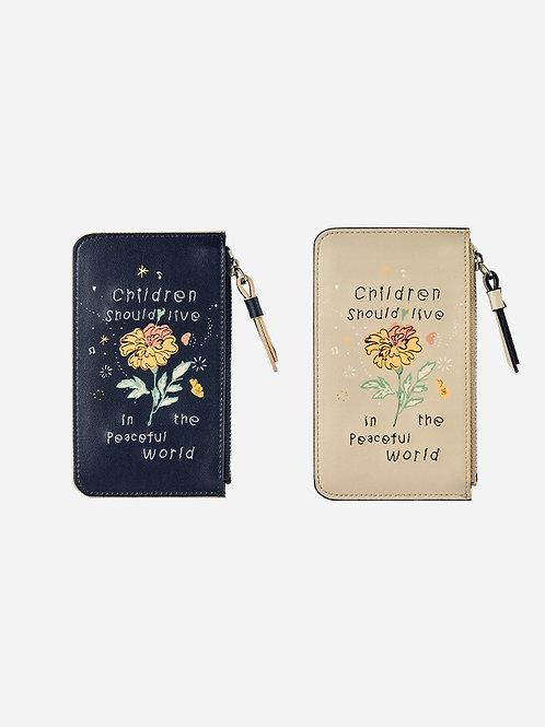 刺繍カードケース マリーゴールド