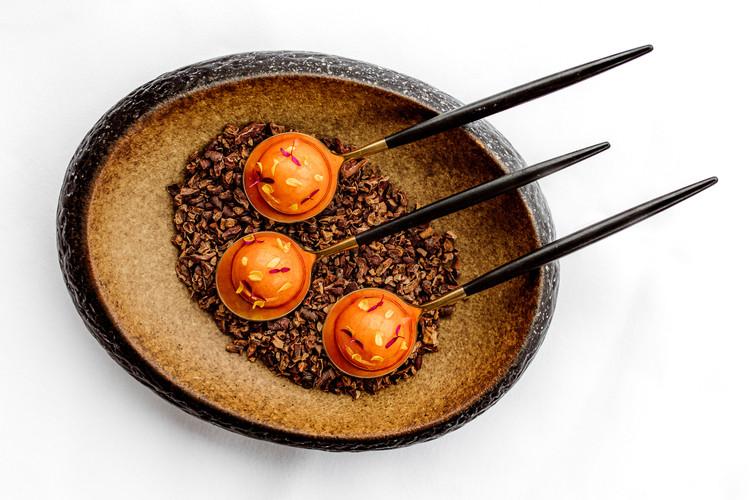 wortel - langoustine - harissa