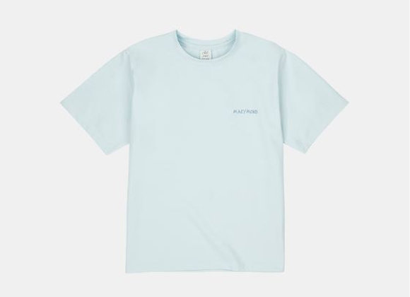 アートワークTシャツ マリーゴールド(スカイブルー)