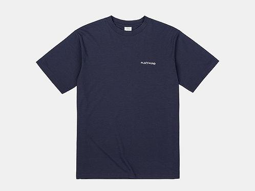 アートワークTシャツ マリーゴールド(ネイビー)