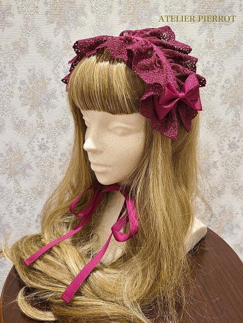 ATELIER PIERROT Lace Ribbon Headdress