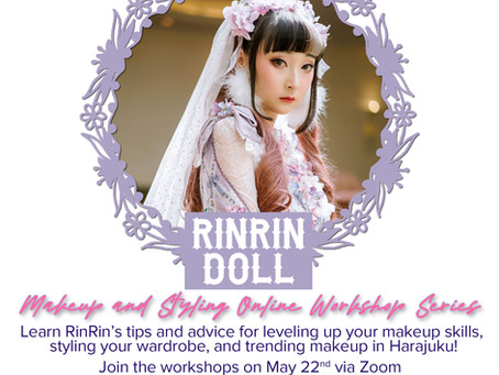 RinRin Doll's Makeup and Styling Online Workshop Series