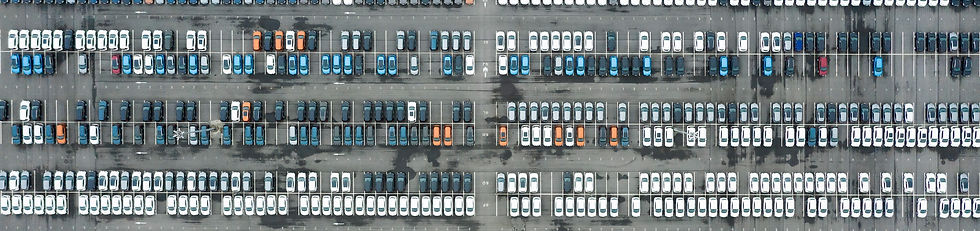 rows-of-new-cars-in-the-parking-lot-CYZY