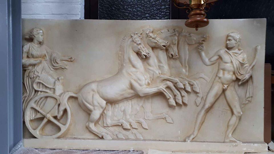 grande plaque de plâtre