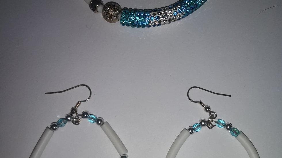 bracelet et boucles oreilles