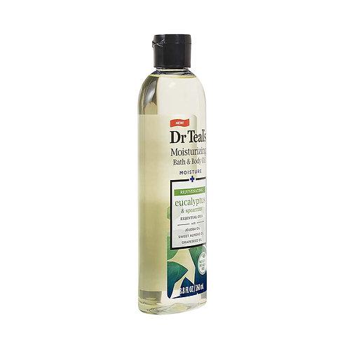 Dr Teal's Moisturizing Bath & Body Oil, Eucalyptus & Spearmint , 8.8 Fluid Ounce