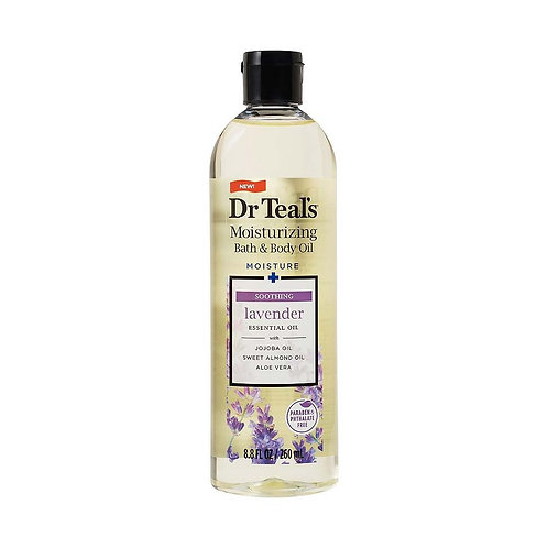 Dr Teal's Bath Additive Lavender Oil, 8.8 Ounce
