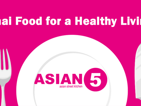 Thai Food For a Healthy Living – [Infographic]